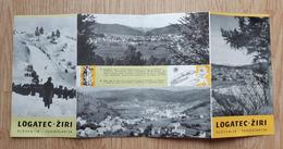 Vintage Tourism Brochures Logatec Ziri  Hotel Krpan Slovenia Yugoslavia - Dépliants Turistici