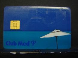 TéCa. 3. Carte à Puce Du Club Med Alpe D'Huez. - France