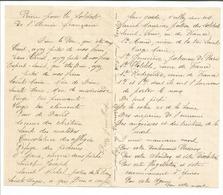 """Lettre """"prière Pour Les Soldats De L'Armée Française""""  / 14-18 / WW1 / POILU - 1914-18"""