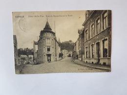 41524  -  Esneux  Hôtel  Belle-vue  Rue De Bruxelles  Et  Le  Pont - Esneux