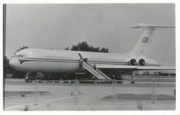 Real Photo  Ilyushin IL 62 . North Korea In Berlin . Interflug . Former RDA - Corée Du Nord