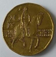 Monnaie - Tchéquie - 20 Kc 1999 - - Repubblica Ceca
