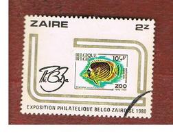 "ZAIRE  -  SG 1028 -  1980 ""PHIBELZA"", STAMP EXN.   - USED ° - Zaire"
