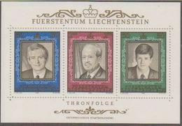 Liechtenstein 1988 Thronfolge M/s ** Mnh (44493) - Blokken