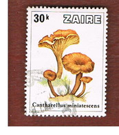 ZAIRE  -  SG 948 -  1979  MUSHROOMS: CANTHARELLUS MINIATESCENS   - USED ° - Zaire
