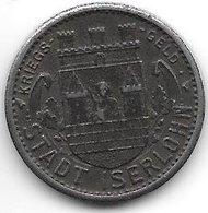 *notgeld Iserlohn 10 Pfennig  1918  Fe    6707.15/  F228.8 - Autres