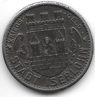 *notgeld Iserlohn 10 Pfennig  1918  Fe    6707.15/  F228.8 - [ 2] 1871-1918 : Impero Tedesco
