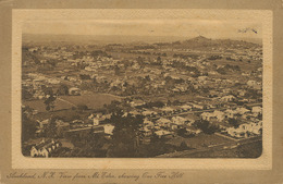 Auckland  View From The N Mount Eden  Showing One Free Hill  P. Used To Havana Cuba - Nouvelle-Zélande