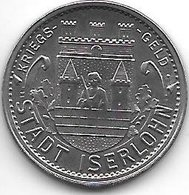*notgeld Iserlohn 10 Pfennig  1919  Fe    6707.16/  F228.9 - [ 2] 1871-1918 : German Empire