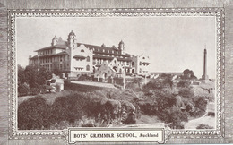 Auckland  Boy's Grammar School - Nouvelle-Zélande