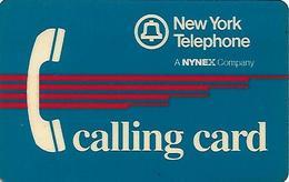 U.S.A,- PREPAID CARD-NEW YORK TELEPHONE -CALLING CARD - Stati Uniti