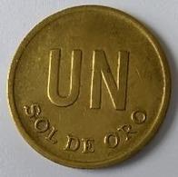 Pérou - 1 Sol De Oro 1975 - - Perú