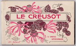 Carnet De 12 Cartes Le Creusot , Vues De La Ville - Le Creusot