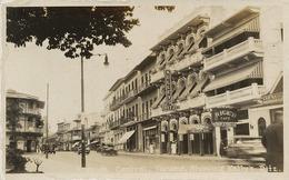 Real Photo Panama City Avenida Central Showing Kelley's Ritz Cabaret - Panama