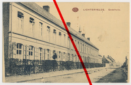 Lichtervelde - Godshuis - 1915 - Stempel 1. Battr. Der Landwehr Feldart Abt. X. A.K. - Lichtervelde