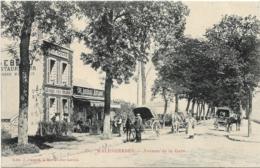 D45 - MALESHERBES-AVENUE DE LA GARE -Aux Acacias Chambres Voyageurs-Café/Restaurant Debeau-Calèches-Nombreuses Personnes - Malesherbes