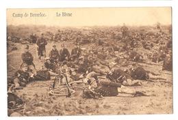 Leopoldsburg Camp De Beverloo Le Bivac Bivouac 1914 Bon état - Leopoldsburg (Beverloo Camp)