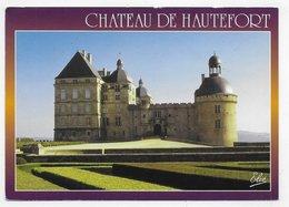 HAUTEFORT - LE CHATEAU - CPM GF VOYAGEE - Frankreich