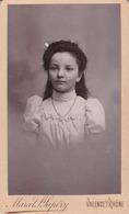 Photo. C.D.V. : Portrait - Enfant : Fille : Photographie - M. ST-SUPERY - Valence - Drome - - Alte (vor 1900)