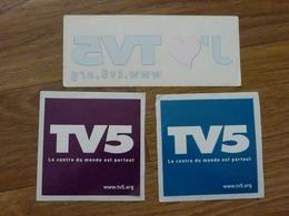 Autocollants TV5 - Andere Verzamelingen