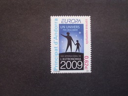 Andorra  SP    Astronomie   Europa Cept   2009  ** - Europa-CEPT