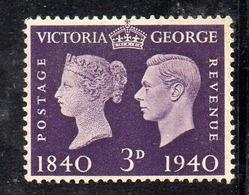 APR2520 - GRAN BRETAGNA 1940 , GVI Unificato N. 232   ***  MNH  (2380A). - 1902-1951 (Re)