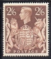 APR2521 - GRAN BRETAGNA 1939 , GVI Unificato N. 224   ***  MNH  (2380A). - 1902-1951 (Re)