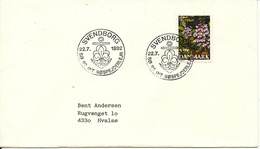 Denmark Cover Scout Scouting Svendborg 22-7-1992 Sö 92 International Söspejderlejr - Scouting