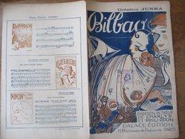 BILBAO CREATION JUNKA PAROLES ET MUSIQUES DE CHARLYS ET PHILIPPON 1928 - Partitions Musicales Anciennes