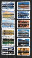 2017 - 172 - 1360 à 1371 - Paysages Du Monde - Adhésif - Frankrijk