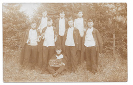Militaria Soldats Brasschaat Braschaet Polygone 1910 Miliciens Défense 1er Bataillon - Casernes
