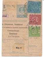 1520t: Österreich Ausschnitt Aus Paketkarte - 1850-1918 Imperium