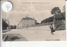 87 -Très Belle Carte Postale Ancienne De BELLAC Vue De La Poste - Bellac