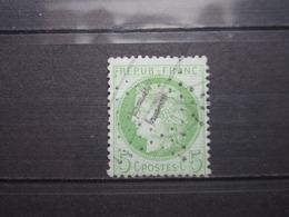 """VEND BEAU TIMBRE DE FRANCE N° 53 , ETOILE """" 11 """" !!! - 1871-1875 Cérès"""