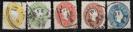 1520q: Österreich 1860-61, Serie Komplett Gestempelt (ANK 114.- €) - 1850-1918 Imperium