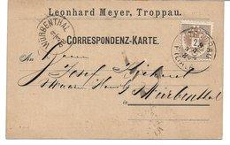 1520p: Beleg Troppau Aus 1888 - Ganzsachen