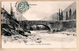 X65421 Edition ROYER N°178 - SASSIS Pont De PESCADERE (65) Hautes Pyrénées 1907 à VIGNAUD Cc SEMORET Angouleme - Other Municipalities
