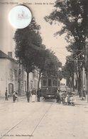 87 -Très Belle Carte Postale Ancienne De BELLAC   Vue De L'Avenue De La Gare - Bellac
