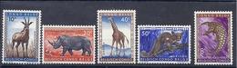 190031865   CONGO  BELGA   YVERT    Nº  350/351/352/353/360   */MH - 1947-60: Nuevos