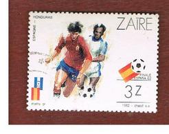 ZAIRE  -  SG 1108 -  1982  WORLD CUP FOOTBALL: SPAIN-HONDURAS   - USED ° - Zaire
