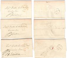 AR208) GREAT BRITAIN Lichfield To London - Year Inverted - 1811 - Gran Bretagna