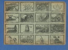 Planche Bon Point Bons Points Leçon Choses Sciences Hatier Lille 1885 écluse Sucre Buis Telephone Marmite Papin Soie - Chromos