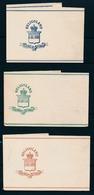 ALTDEUTSCHLAND - HELIGOLAND - Mi. Nr S 1/3 - 3 Steifbänder (nicht Gelaufen) - (ref. 1627). - Heligoland