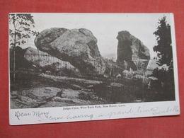 Judges Cave  West Rock Park  Connecticut > New Haven     Ref    3587 - New Haven