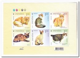 Oekraïne 2008, Postfris MNH, Cats - Oekraïne