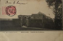 Bouillon // Ed. L. Duparque 533 // Entree Du Chateau 1904 - Bouillon