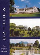 1 AK Sarawak / Bundesstaat Von Malaysia Auf Der Insel Borneo * Ansichten Der Hauptstadt Kuching * - Malaysia