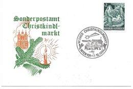 1520e: Weihnachtsbeleg Wiener Christkindlmarkt 1964 - Weihnachten
