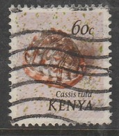 Kenya 1971 Seashells 60 C Multicoloured SW 43 O Used - Kenya (1963-...)