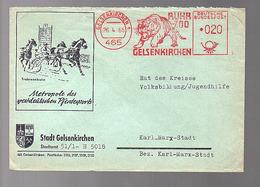 TIGER Gelsenkirchen Horse Running Metrople Des Westdeutschen Pferdesports > Rat Jugenshilfe DDR (601) - Brieven En Documenten